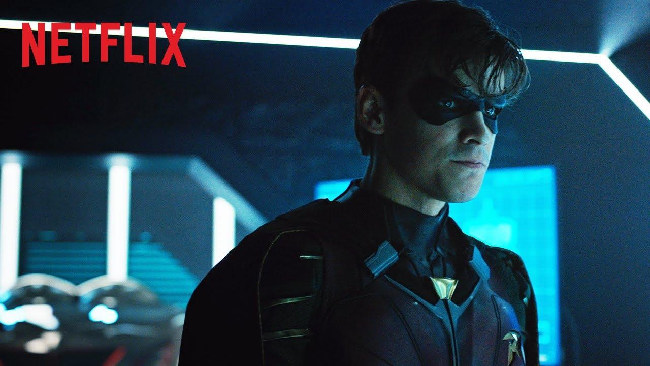 Titans Netflix gennaio 2019