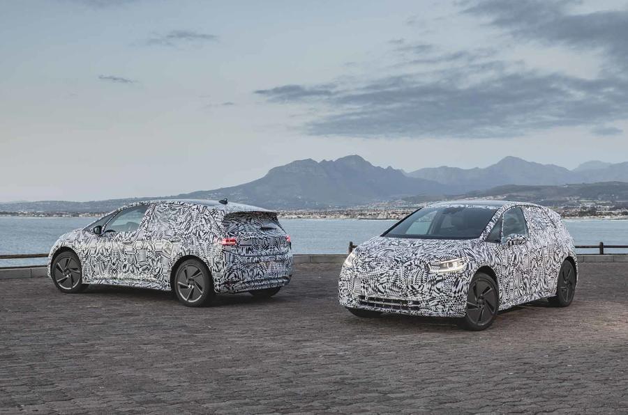 I primi prototipi della Volkswagen ID visti fra le strade del Sud Africa 2