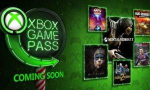 Xbox Game Pass dicembre 2018