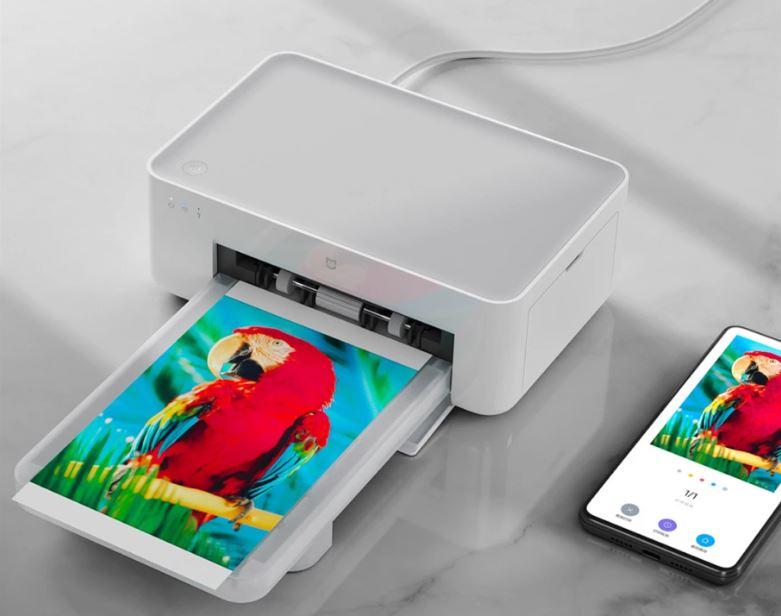 Xiaomi Mijia stampante wireless foto