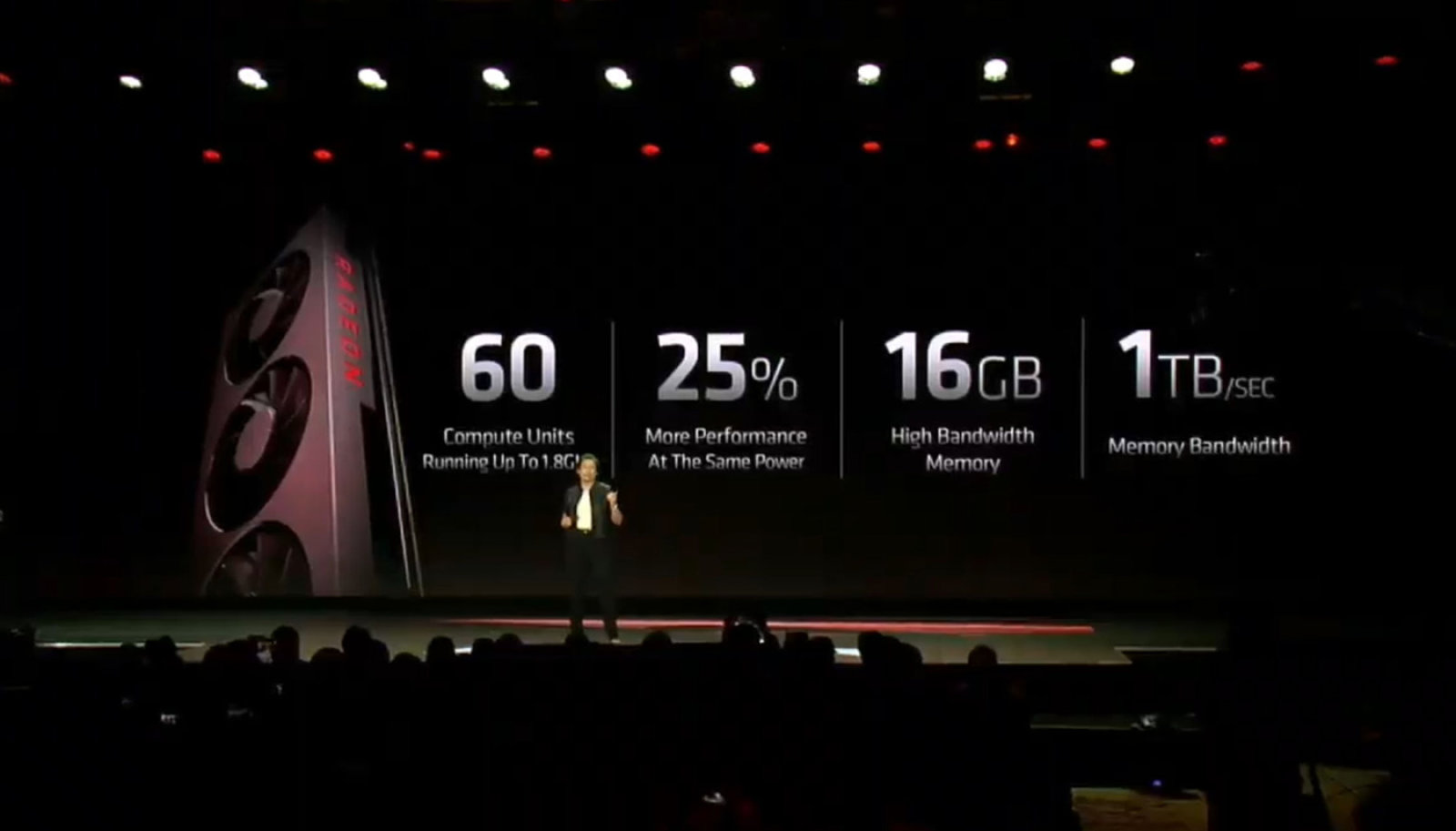 AMD svela la Radeon VII, prima GPU da gaming a 7nm 1