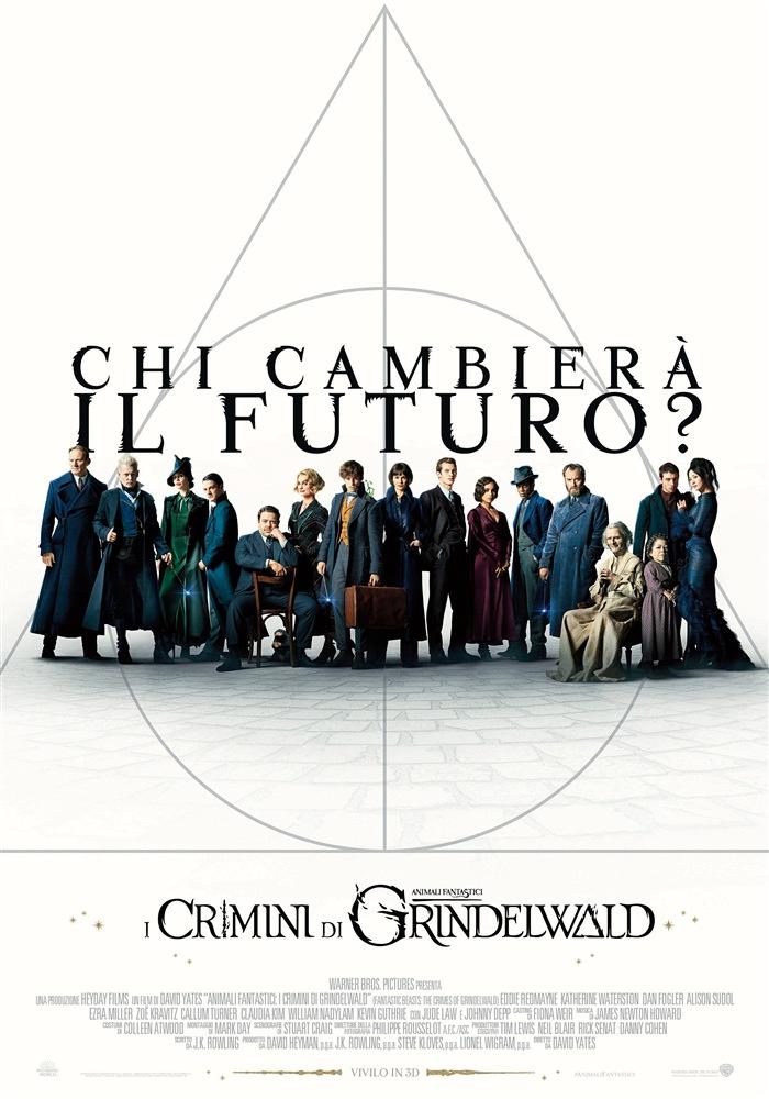 Animali Fantastici: I Crimini di Grindelwald in DVD, Blu-ray e UHD Blu-ray dal 14 marzo 1