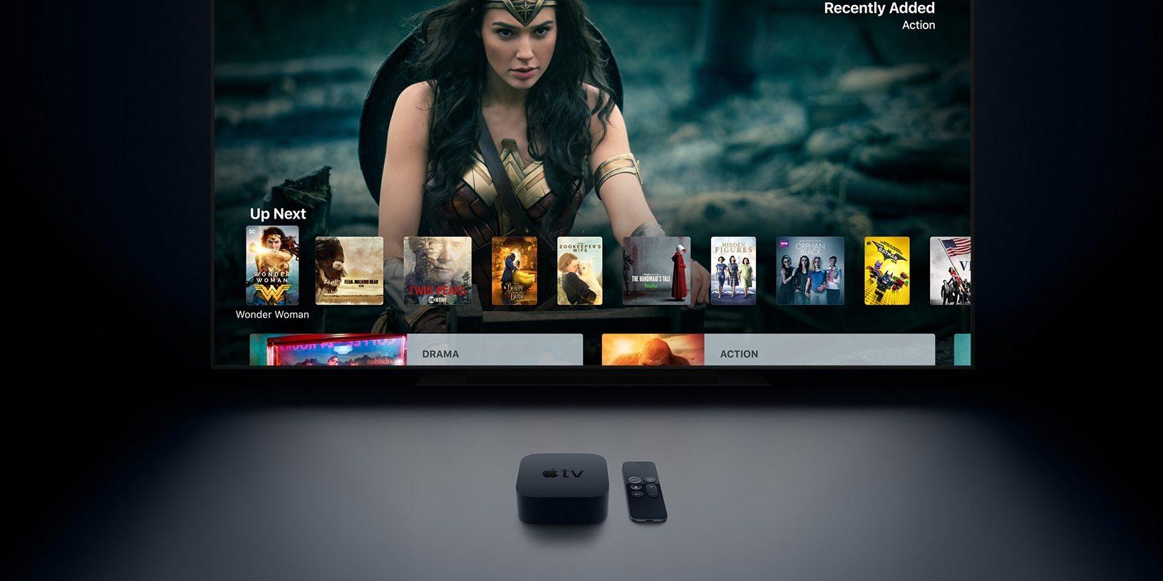 Apple TV aggiornamento app