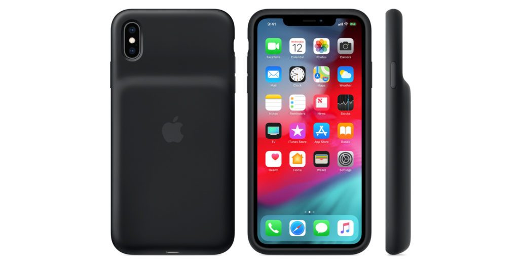Apple annuncia le Smart Battery Case, con ricarica wireless, per iPhone XS, iPhone XS Max e iPhone XR