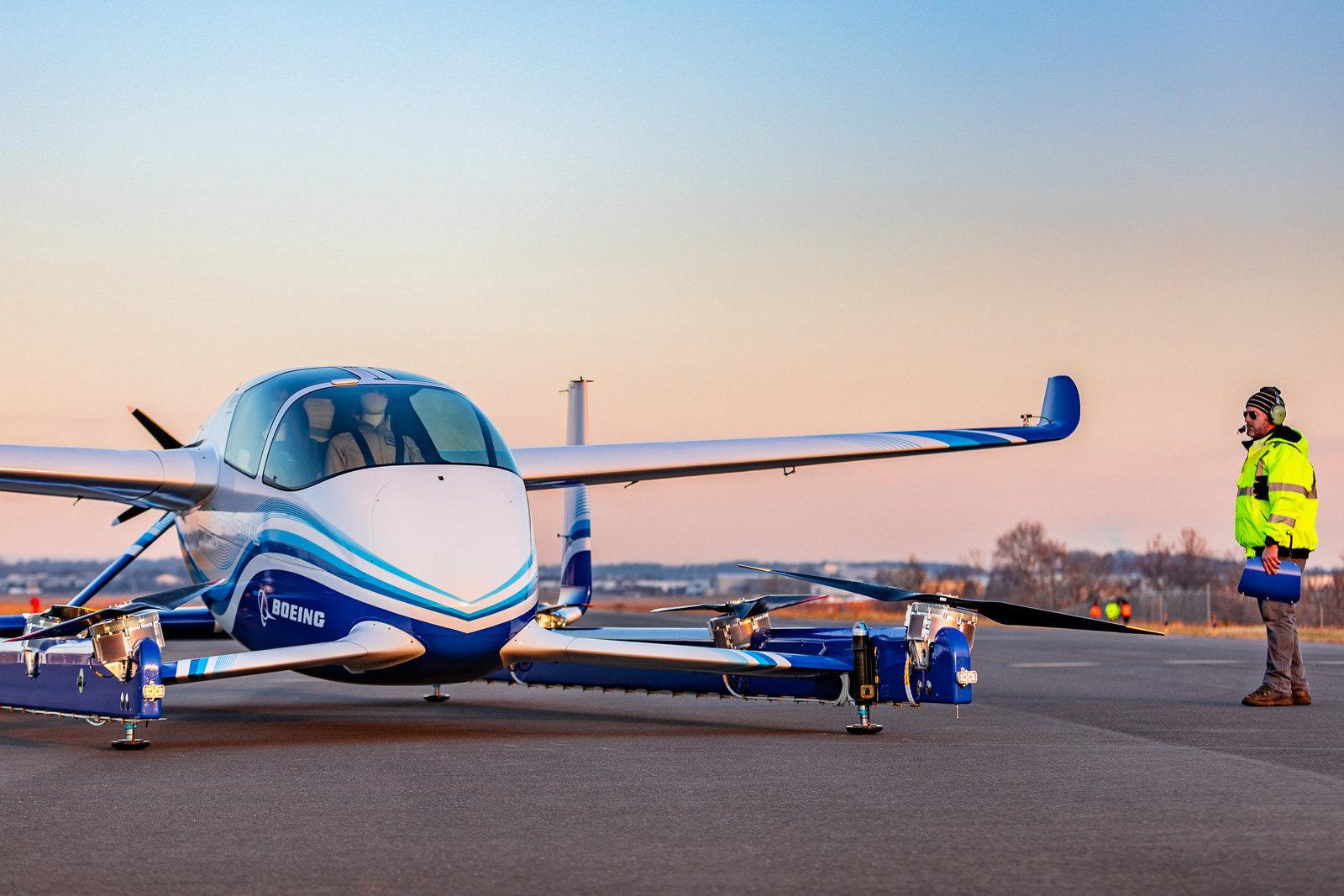Boeing VTOL taxi volante
