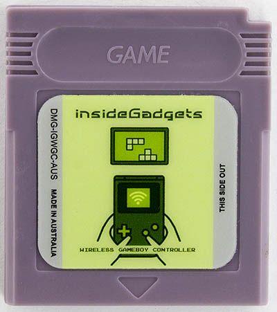 Cartuccia trasforma Game Boy in un controller wireless
