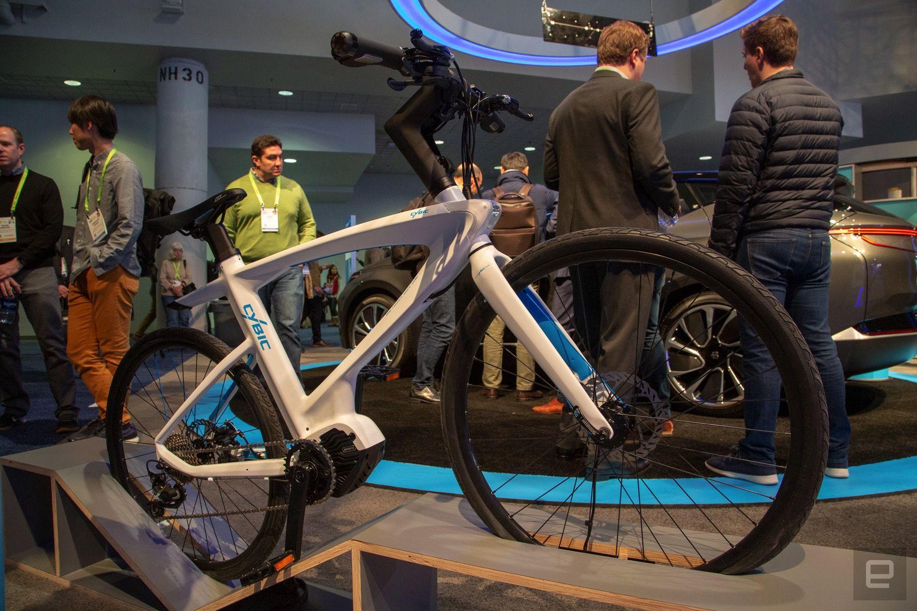Cybic E-Legend bicicletta Alexa