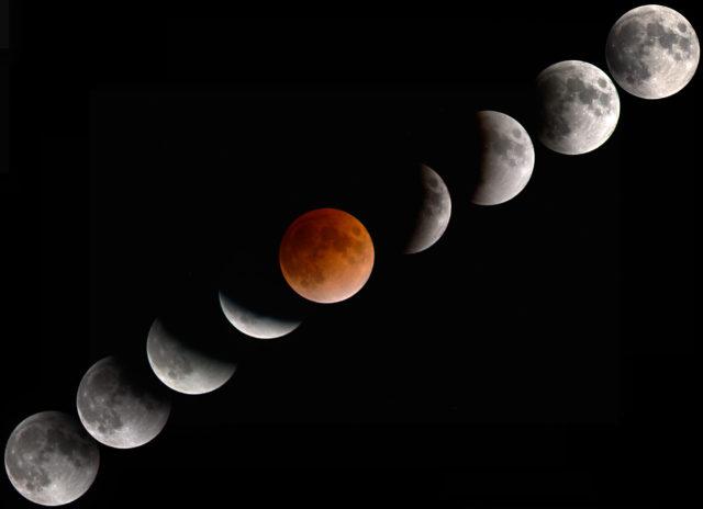 Eclissi-totale-Luna-Rossa