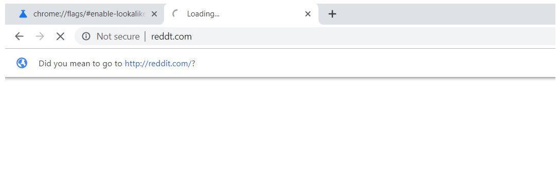"""Google Chrome ha un nuovo sistema di avviso per potenziali attacchi phishing tramite """"URL sosia"""" 1"""