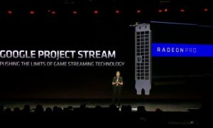 Google Project Stream AMD Vega Radeon Pro