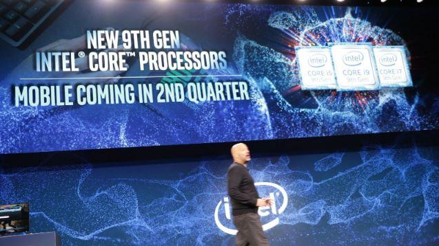 Intel CPU 9° gen CES 2019