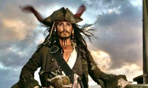 Jack Sparrow Johnny Depp Pirati dei Caraibi