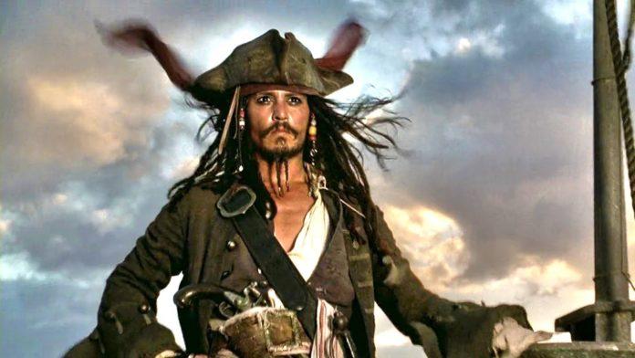 Jack Sparrow Johnny Depp Pirati dei Caraibi