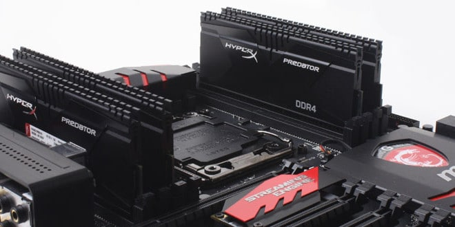 Kingston HyperX Predator DDR4 su MSI MPG Z390I Gaming Edge AC ITX