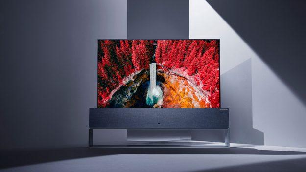 LG lancerà una TV OLED 8K e la TV arrotolabile OLED R nella seconda metà del 2019 1