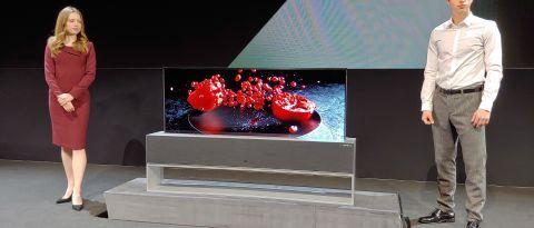 LG OLED TV R ufficiale al CES 2019 come il primo Smart TV arrotolabile da 65 pollici 1