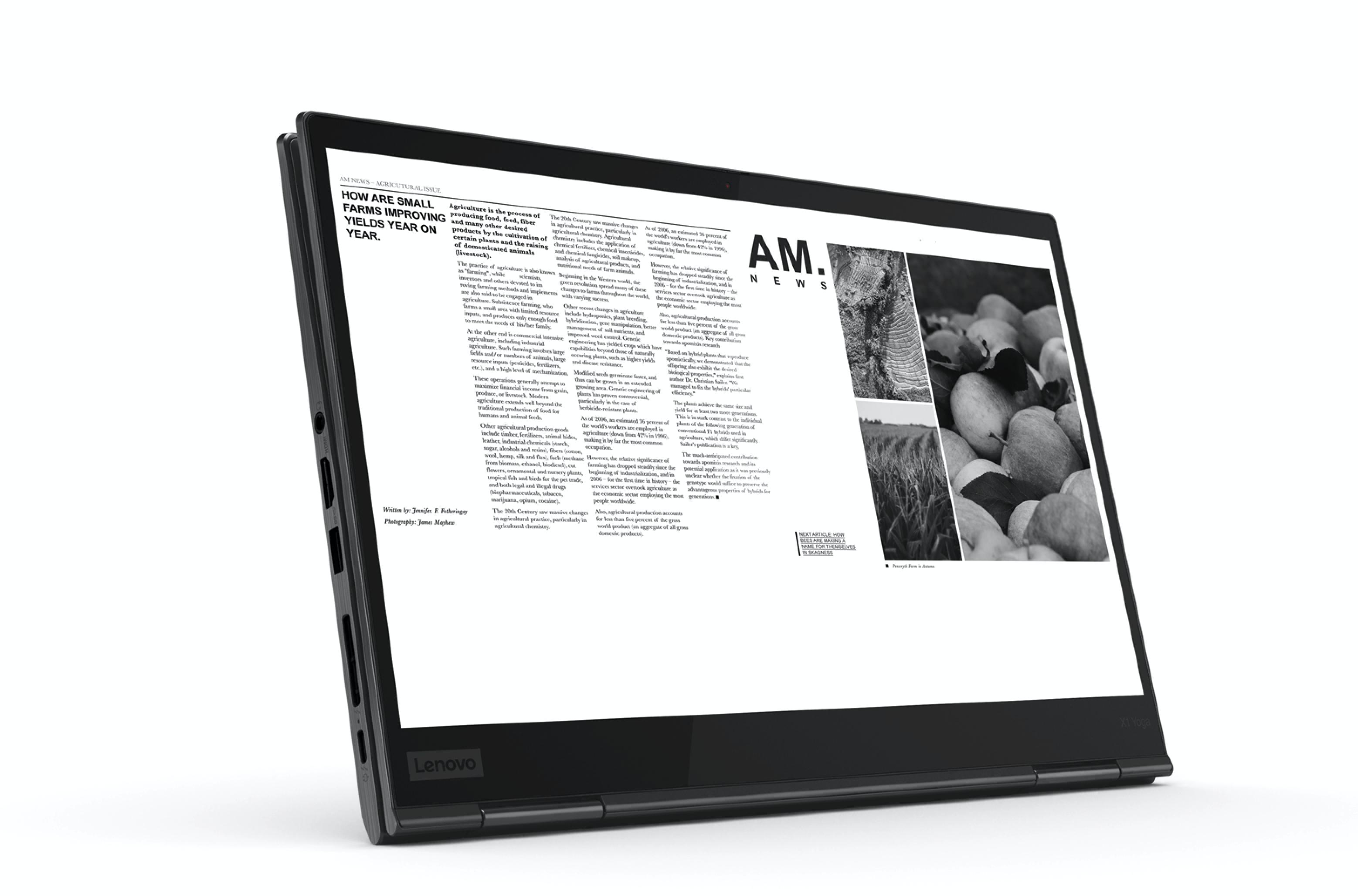 Lenovo ThinkPad Carbon X1, X1 Yoga e Lenovo Legion ufficiali al CES 2019 1