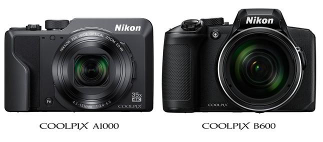 Nikon COOLPIX A1000 e B600