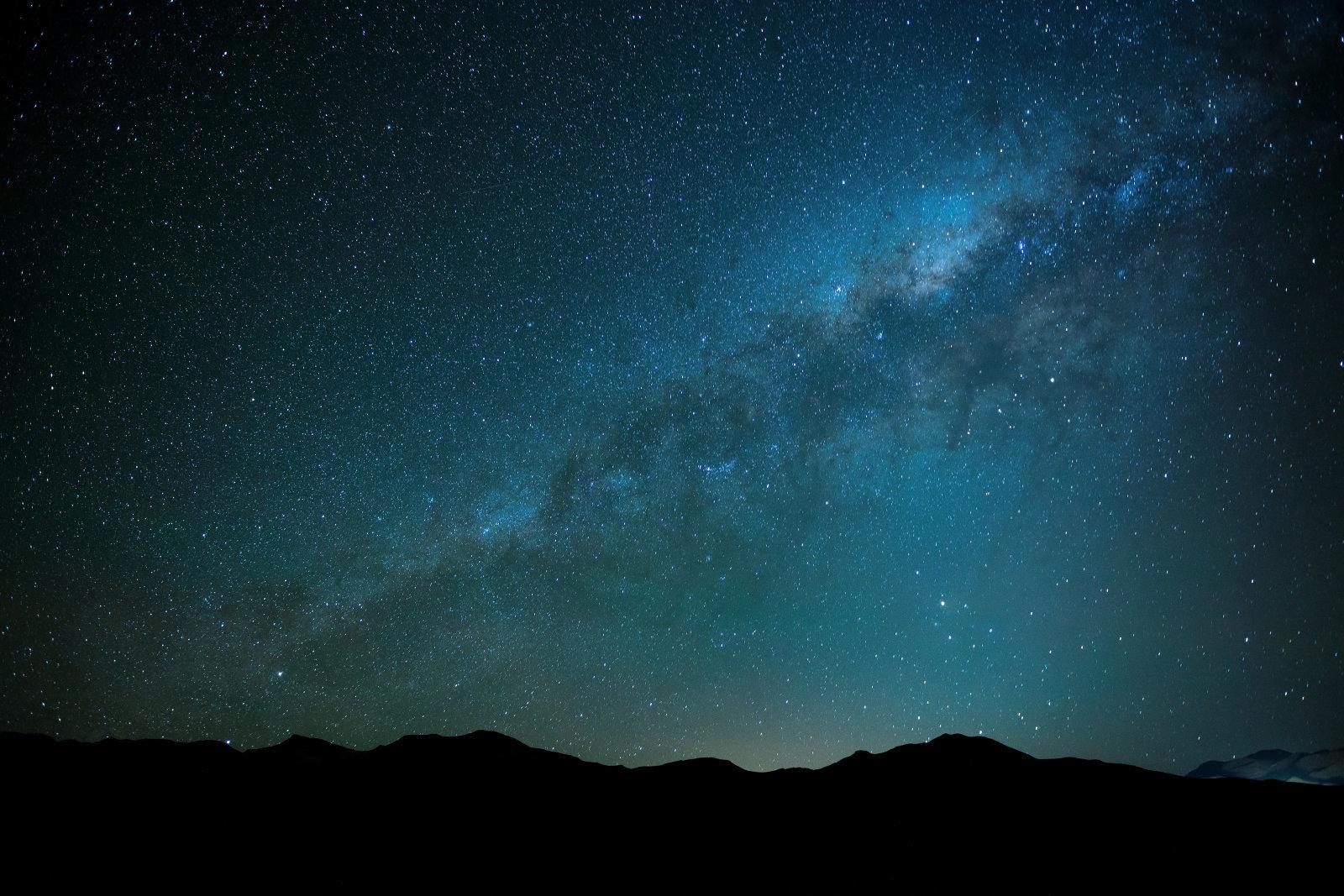 Onde radio spazio Via Lattea
