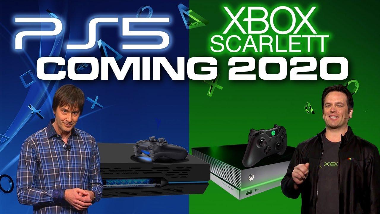 PlayStation 5 e Xbox Scarlett