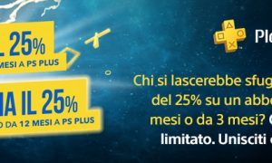 Promo PlayStation Plus 25%