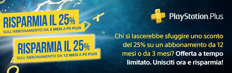 Promo PlayStation Plus 25%