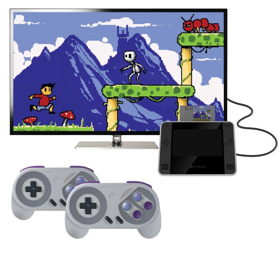 Retro Champ è una console che permette di giocare con le cartucce della NES (non le ROM) 1