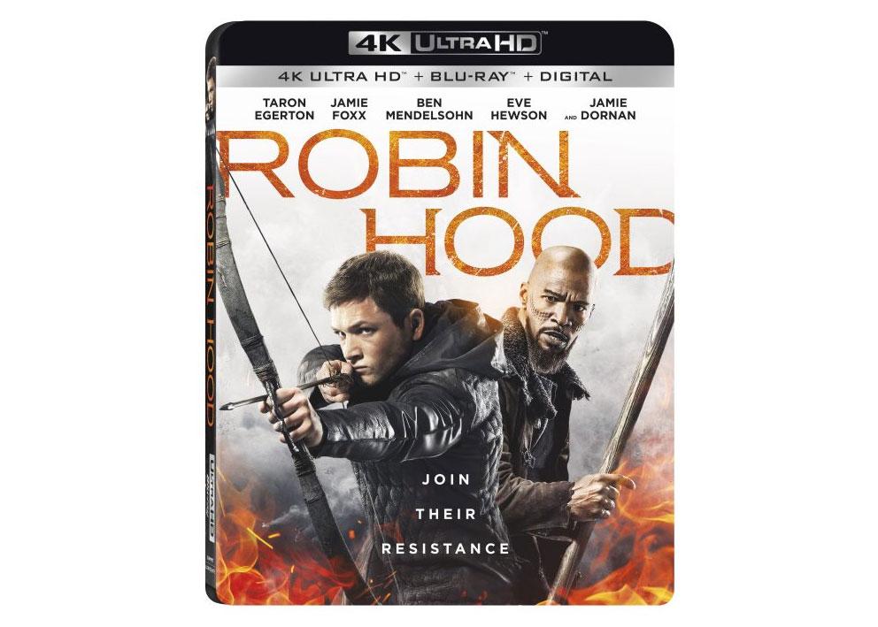 Robin Hood è il primo UHD Blu-ray a includere HDR10+ e Dolby Vision