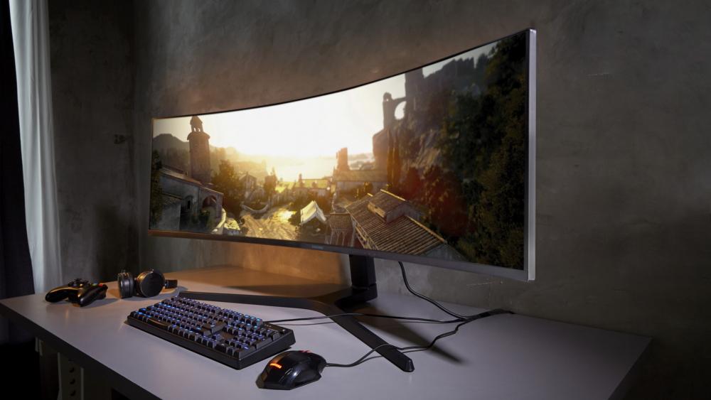 """Samsung annuncia 3 nuovi monitor, fra cui lo """"Space Monitor"""" da addossare alla parete 1"""