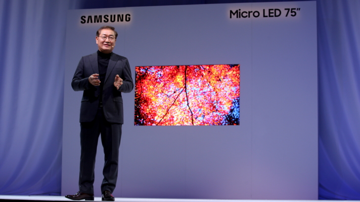 Samsung Smart TV microLED 4K 75 pollici (1)