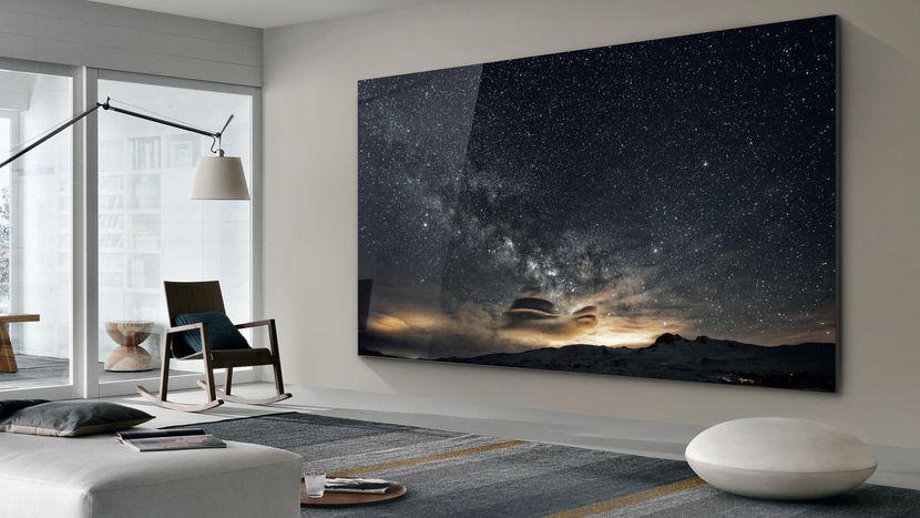 Samsung Smart TV microLED 4K 75 pollici