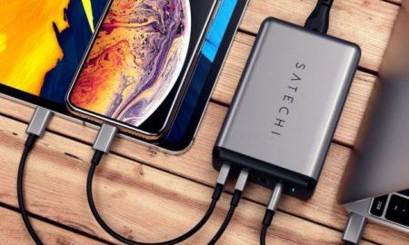 Satechi carica batteria iPhone, iPad, MacBook Pro CES 2019