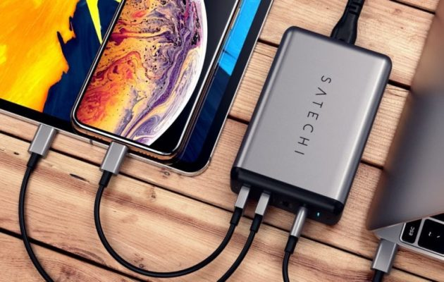 Satechi carica batteria iPhone, iPad, MacBook Pro CES 2019