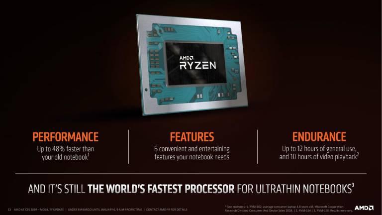 Al CES 2019 AMD presenta le nuove CPU Ryzen 3, Ryzen 5 e Ryzen 7 a 12 nm 1