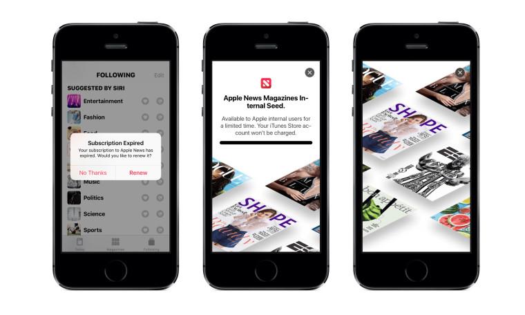 iOS 12.2 dettagli Apple News Magazines