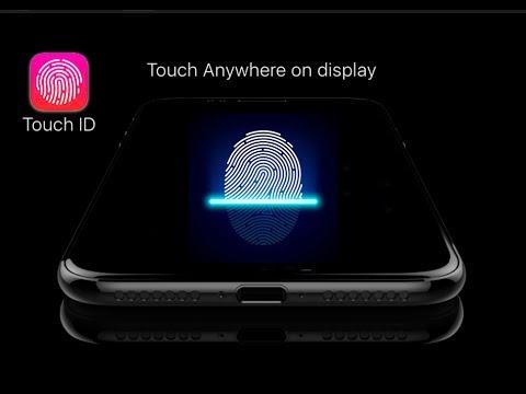 iPhone 2019 Touch ID ultrasuoni