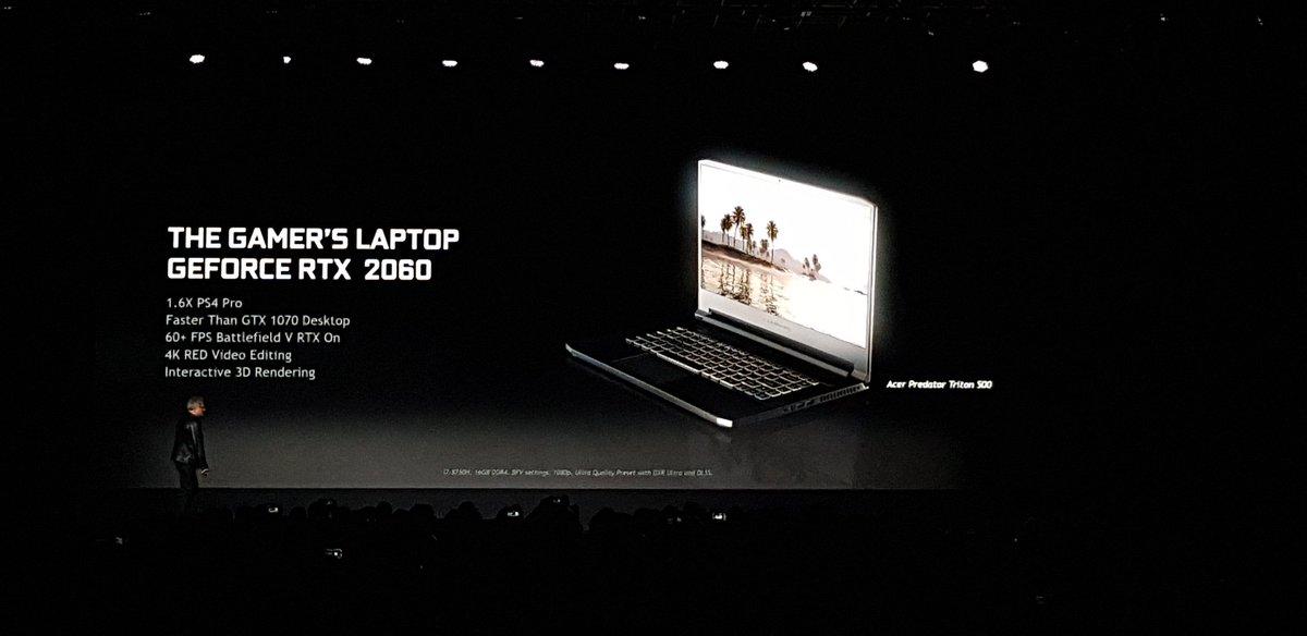 Nvidia presenta la GeForce RTX 2060 e le versioni mobile di RTX 2060, 2070 e 2080 1