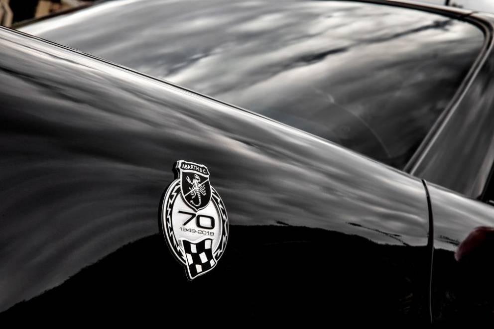 Abarth presenta un allestimento speciale per il 70° Anniversario ispirato ai molti Rally vinti 1