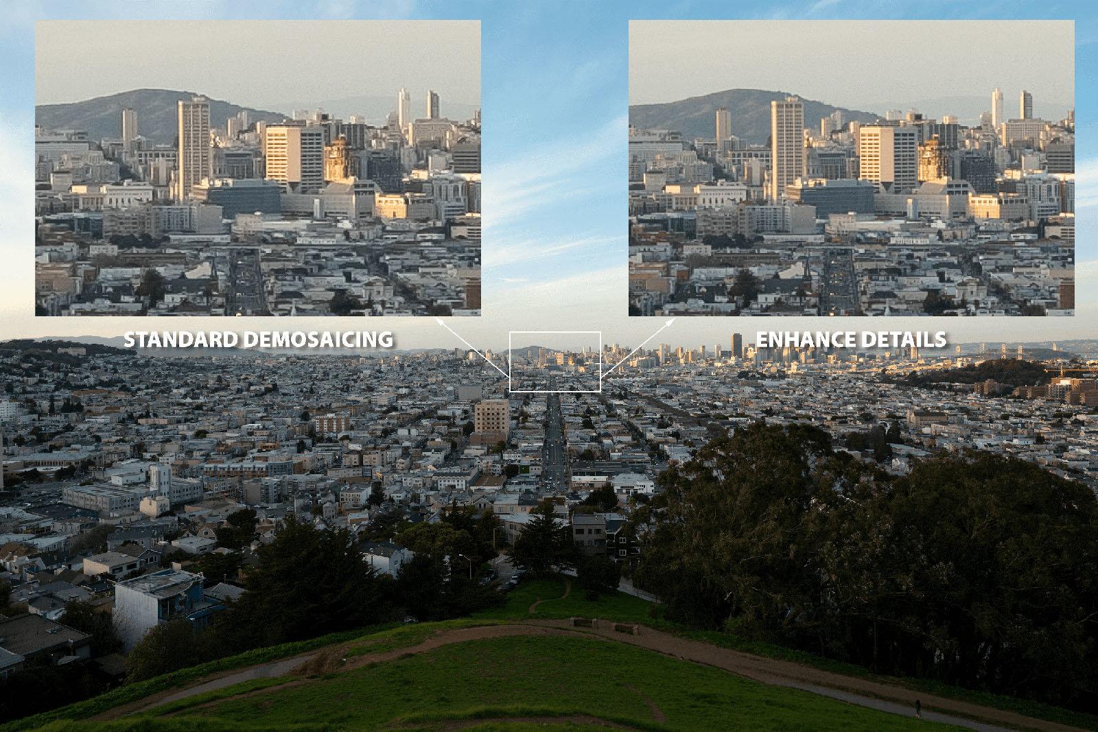 Adobe Lightroom CC ora usa la IA per migliorare le immagini RAW 1