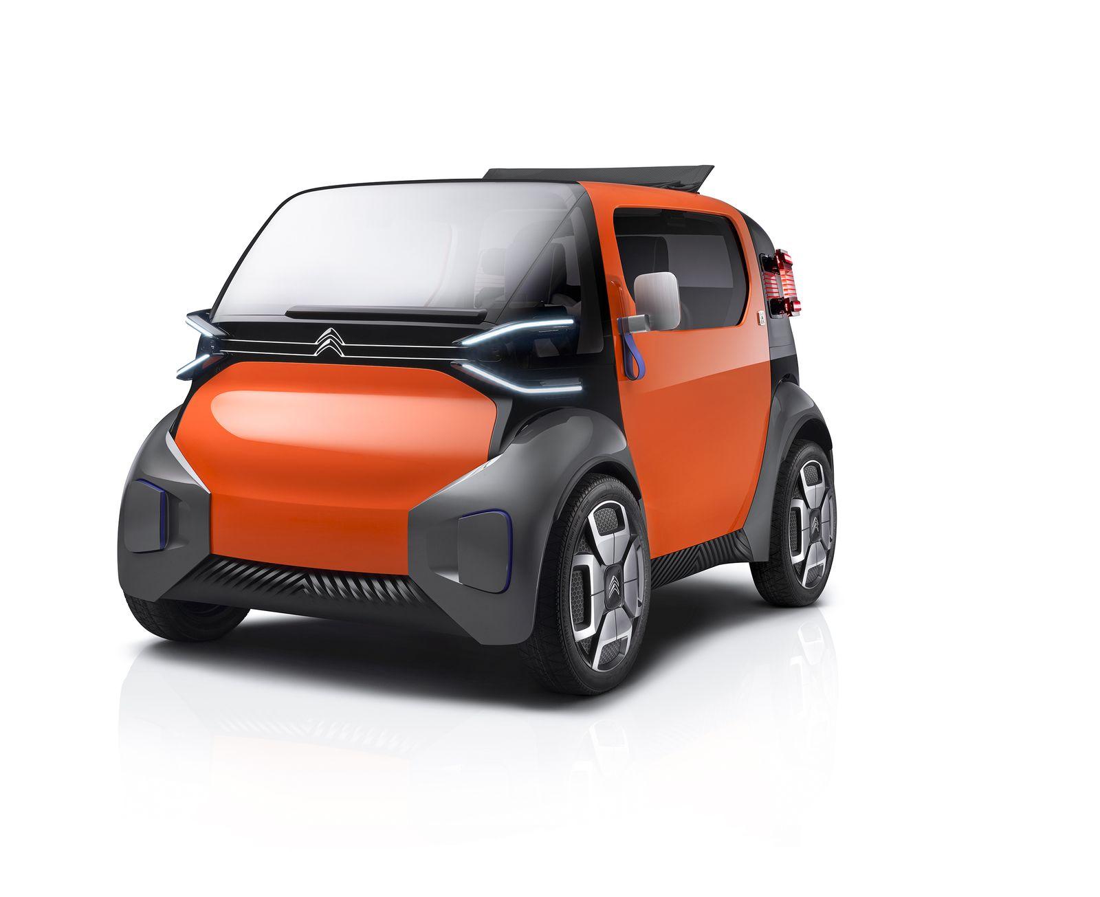 Citroën AMI One sarà la più brutta ma potenzialmente più rivoluzionaria auto elettrica del Salone di Ginevra 1
