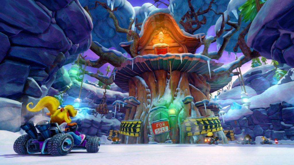 Crash Team Racing Nitro Fueled per Nintendo Switch si mostra nelle prime interessanti immagini 1
