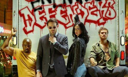 Daredevil, Luke Cage e Iron First e Jessica Jones