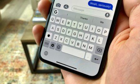 Gbaord iPhone XS