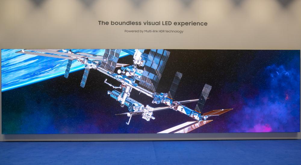 Samsung a ISE 2019 fra QLED 8K Signage, The Wall da 292 pollici e Multi-Link LED 2