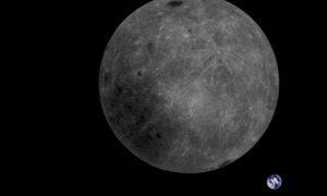 Il satellite cinese Longjiang-2 ha scattato la prima foto del sistema Terra-Luna