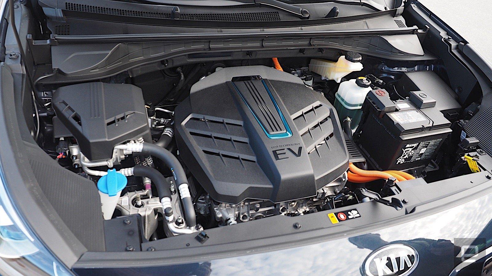 Kia Niro EV motore elettrico