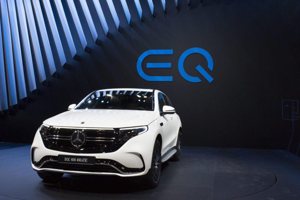 Mercedes-Benz presenta EQC SUV, la sua prima auto elettrica 1