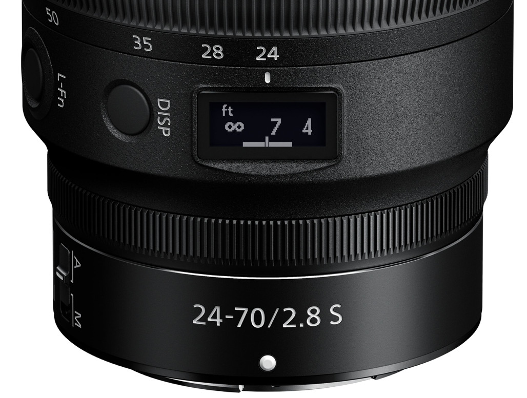 Nikon ha annunciato l'obiettivo Nikkor Z 24-70 f / 2.8 S con attacco Z 1