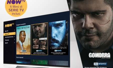 Sky e LG regalano 6 mesi di NOW TV acquistando uno Smart TV LG in promozione