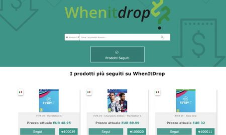 WhenItDrop amazon tracker